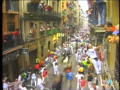 Encierro de San Fermín   11 de julio de 1998 480p