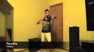 Paradise - Coldplay violin