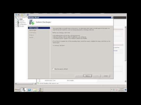 Exchange Server 2010 -Part 1 Preparation