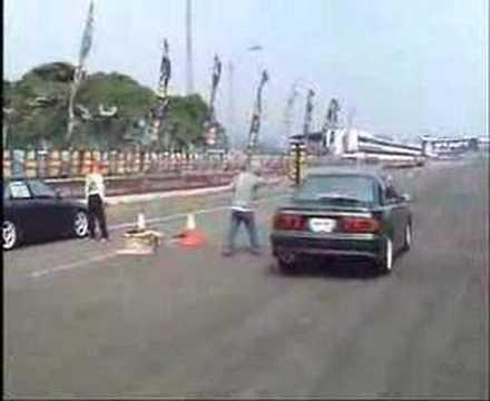 EVO III  VS EVO III drag race
