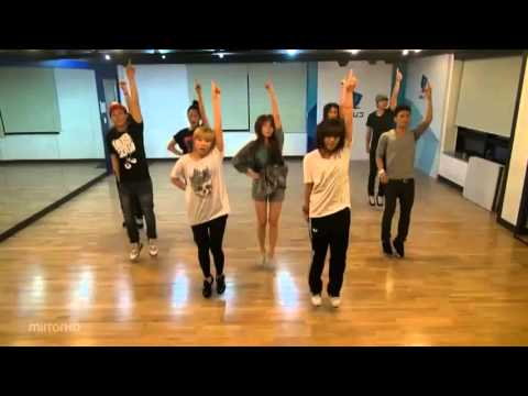 Hyuna - Bubble Pop mirrored Dance Practice -0TOaaiMct6Y