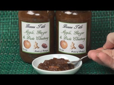 Apple. Date and Ginger Chutney Recipe