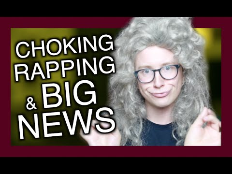 CHOKING, RAPPING & VERY BIG NEWS | Tyler Oakley