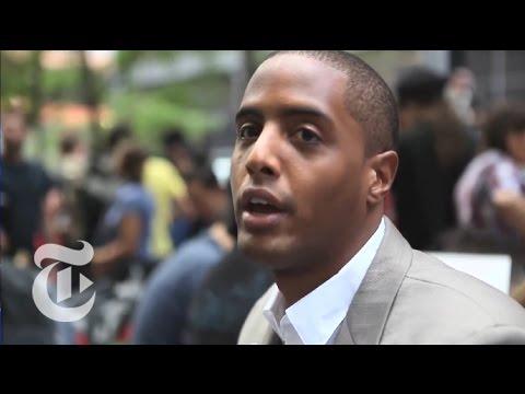 NY Region:  Wall Street Protesters Speak