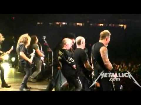 Metallica with Big 4 jam - Overkill (Live - New York, NY 2011) - MetOnTour