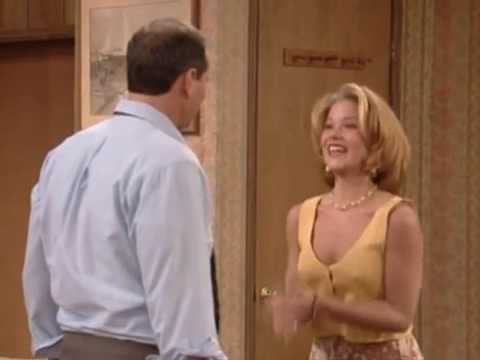 braless Christina Applegate as hot and sexy Kelly Bundy like we love her