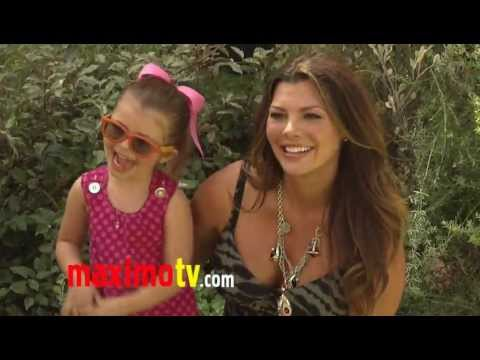 Beauty Queen Ali Landry Prego at The Lion King 3D Premiere