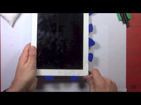 Tutoriel changement vitre tactile casée ipad 3 et 4 nouvel ipad démonter + remonter poster