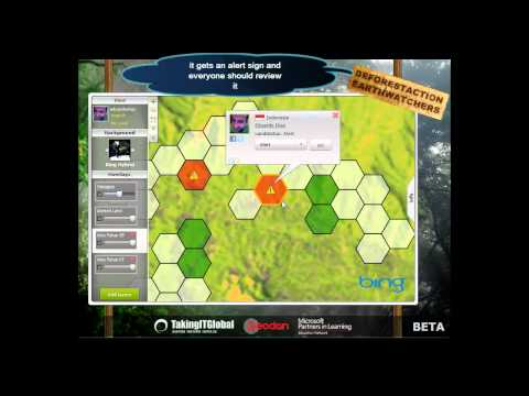 DeforestACTION EarthWatchers video Tutorial (HD)