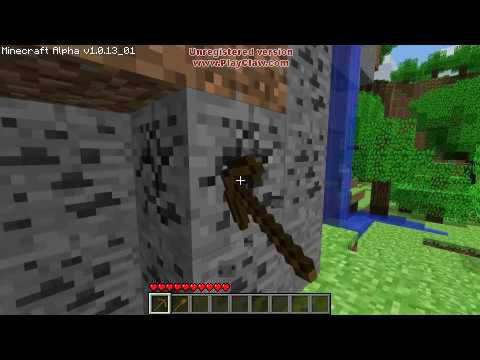 Minecraft Tutorials - 01 - How to Survive your First Night