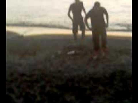 Chersonissos 2008 - zwemmen @ een uur of 7 's morgens
