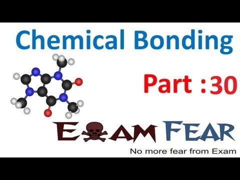 Chemistry Chemical Bonding part 30 (Molecule behavior & electronic configuration) CBSE class 11 XI