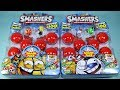 Zuru Smashers Series 1 Sports - 8 Smash Packs plus Collectors Tin