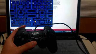 HTML5 Pacman Game with GamePad API