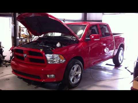 2011 Dodge Ram 1500 HEMI DYNO!