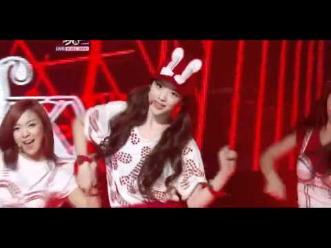 f(x) - Hot Summer - Music Bank live performance
