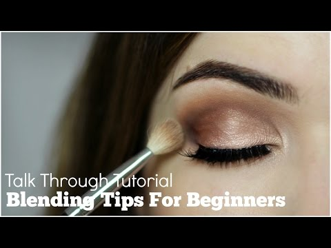 How To Blend Eyeshadow For Beginners Talk Through - UC-1-zPmT368J8JRbsK_1keA