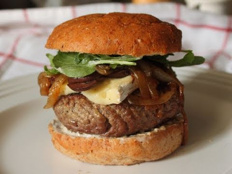 How I Cook Burgers - Chef John Likes His Meat Pink