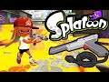 splatoon wii u update! zapper weapon port mackerel map n-zap '85 online gameplay walkthrough part 4