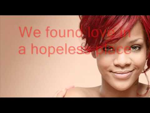 Rihanna - We found love (paroles   traduction)