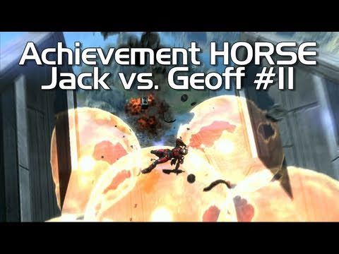 Halo: Reach - Achievement HORSE #11 (AWESOME Jack vs. SMELLY Geoff)
