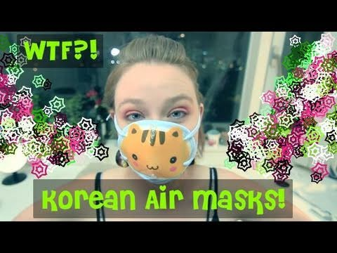 WTF - Korean Air Masks