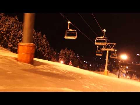 piggyback skiing