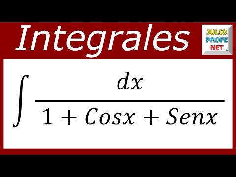 Solución de una integral que contiene seno y coseno en el denominador