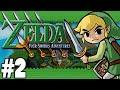 the legend of zelda: four swords adventures (4 players) - part 2