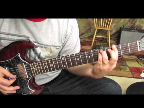 Green Day - Minority - How to play on guitar - electric - acoustic - gibson sg