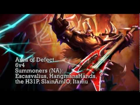 AoD - 6v4 (Songs of the Summoned 3 - League of Legends Champion Rocks!)