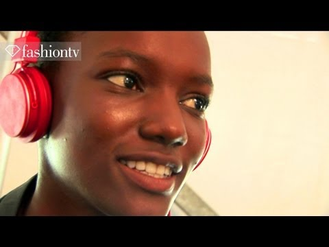 Lacoste Backstage Ft Herieth Paul - New York Fashion Week Spring 2012 Nfyw Fashiontv - Ftv