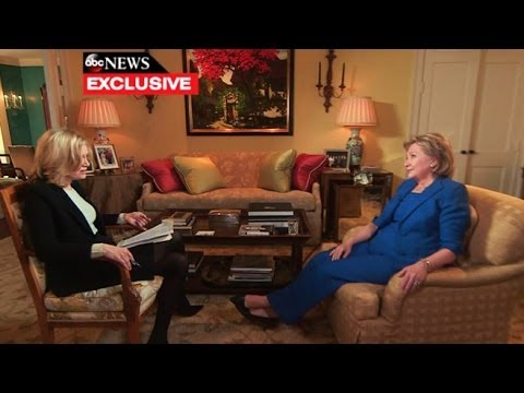 (Hillary Clintons) Exclusive One-on-One With Diane Sawyer  6/7/14