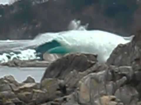 Japan Tsunami Wave Encounter
