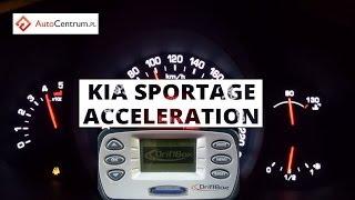 Kia Sportage 2.0 CRDi 184 PS AWD - acceleration 0-100 km/h