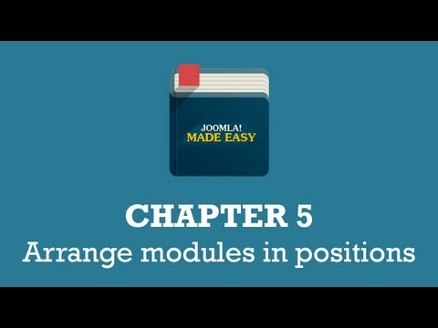 Chapter 5 | Arrange modules in positions