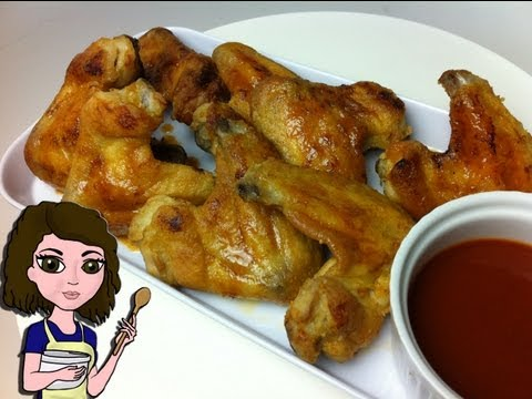 HOW TO MAKE CRISPY OVEN BAKED CHICKEN WINGS