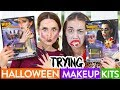 TRYING $5 HALLOWEEN MAKEUP ft Miranda Sings!
