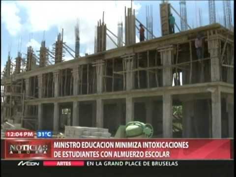 Ministro educación minimiza intoxicaciones de estudiantes con almuerzo escolar