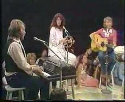 ABBA, Olivia Newton-John & Andy Gibb performing Beach Boys