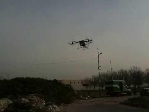 Stillfly il drone campano contro l'ecomafia.