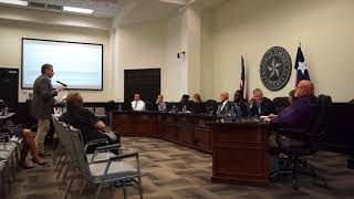 Former Forney Mayor Speaks to Council about Developer Agreements