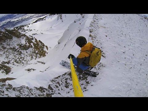 GoPro Line of the Winter: Owen Leeper - Jackson Hole 2.13.15 - Snow