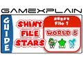 5 Shiny File Stars In Super Mario 3D World - Guide & Walkthrough (Wii U)