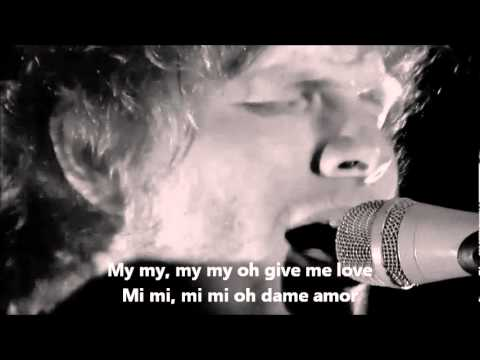 Ed Sheeran - Give me love Subtitulado Español / Ingles