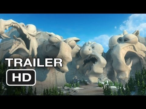 Ice Age: Continental Drift Official Trailer #2 (2012) Animated Movie HD