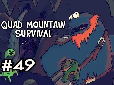 Minecraft: Quad Mountain Survival w/Nova Ep.49 - MAKING A 2ND FLOOR
