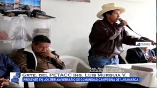PETACC participa en Aniversario de Laramarca