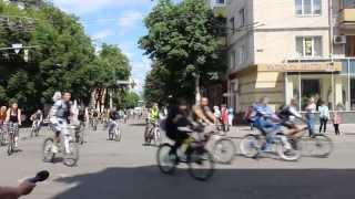 На Велодень в Житомире собралось 500 велосипедистов