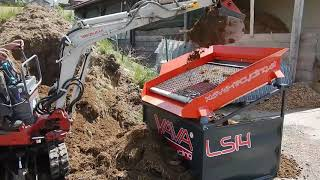 Aufbereitung Erde LS14 / Processing Soil LS14